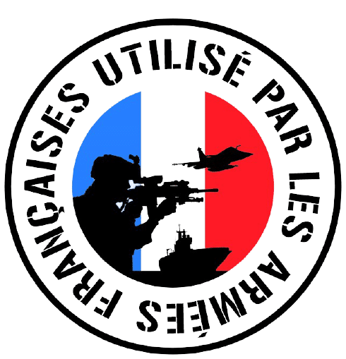 Used by French Army label