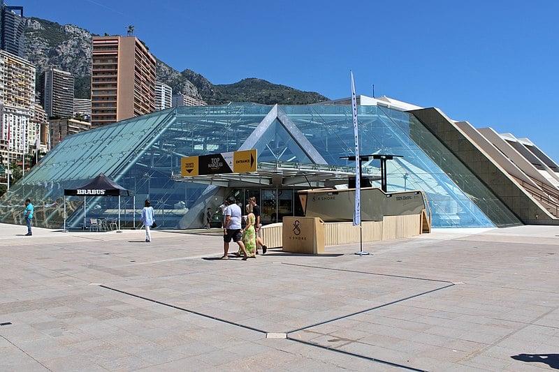 Forum Grimaldi de Monaco où se déroule les Assises 2020