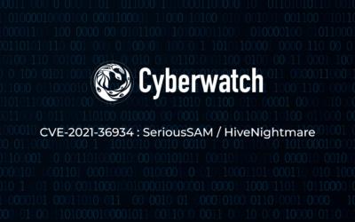 Comment identifier et neutraliser la vulnérabilité CVE-2021-36934 (SeriousSAM / HiveNightmare) ?