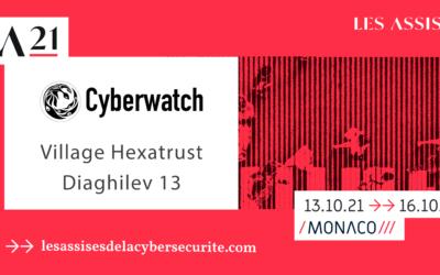 Retrouvez les équipes Cyberwatch au salon Les Assises de la cybersécurité du 13 au 15 octobre 2021